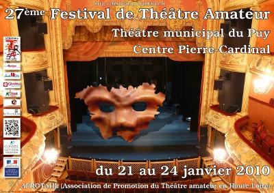 Affiche du festival APROTAHL 2010, vers le site