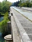 canal du midi, un aqueduc sur le fleuve Orb, impressionnant !!