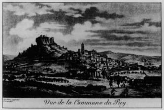 le puy en Velay 1792 par Meunier