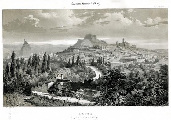 le puy en velay - anicium - 1850