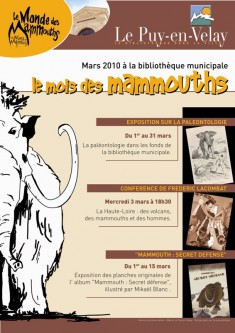 le mois du mammouth au puy en velay